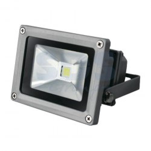 Прожектор уличный LED, Cold White, 10W, AC85-220V/50-60Hz, 800 Lm, IP65. Lamper