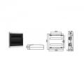 Щиток  с дверцей 36 Настенный распределительный модульный щиток IP41