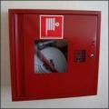 ПК-310В Шкаф пожарный со стеклом красный