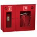 ПК-315В Шкаф пожарный со стеклом красный