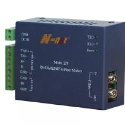 NT-277S (N-NET) Преобразователь интерфейсов RS-232/422/485 в оптику