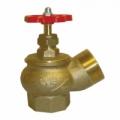 Вентиль КПЛ 50-1  угловой латунь (муфта-цапка) Вентиль угловой латуный