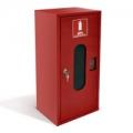ШПО-103 Шкаф пожарный со стеклом красный