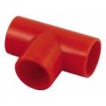 02-1007-25 Тройник для трубы диаметром 25 мм