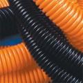 Труба ДКС-71920 Труба гибкая гофрированная из ПНД с протяжкой, 20 мм, оранжевая
