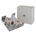 КМ-О (4к) Коробка для монтажа огнестойкого кабеля, оцинкованная сталь