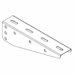Консоль ДКС FC34183 Консоль BM, основание 300 мм, для лотка, монтируется в профиль PSM, нагрузка 190 кг