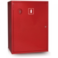 ШПО-112 Шкаф пожарный без стекла красный (левый)