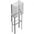 ОНШ-1 Основание напольное для шкафов ТШ и ШПУ
