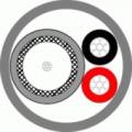 КВК+2пх0,5 (внеш) Кабель комбинированный для систем видеонаблюдения