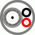 КВК-В-3ф 2x0,5 белый (Паритет) (200м) Кабель комбинированный для систем видеонаблюдения