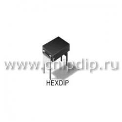 IRFD320, N-кан 400В 0.3А HEXDIP