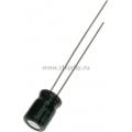 ECAP (К50-35 мини),     47 мкФ, 16 В, 5х7мм, Конденсатор электролитический алюминиевый миниатюрный