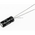 ECAP NP (К50-6),    4.7 мкФ, 50В  105°C, Конденсатор электролитический алюминиевый неполярный