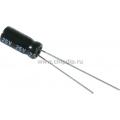 ECAP NP (К50-6),   22 мкФ, 25В  105°C, Конденсатор электролитический алюминиевый неполярный