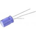 ECAP NP (К50-6),   22 мкФ, 35В  85°C, Конденсатор электролитический алюминиевый неполярный