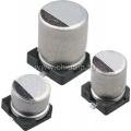 ECAP SMD,    1 мкФ, 50В, Конденсатор электролитический алюминиевый SMD