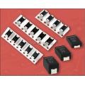 ECAS,  10 мкФ,  10 В, 7.3х4.3х1.9мм, 20%, ECASD41A106M055K, Конденсатор электролитический полимерный