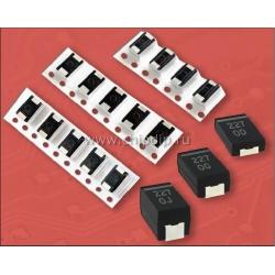 ECAS,  10 мкФ,  12.5 В, 7.3х4.3х1.9мм, 20%, ECASD41B106M055K, Конденсатор электролитический полимерный