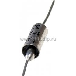 К53-1,   0.047 мкФ, 20 В, 20%, Конденсатор танталовый выводной