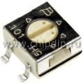 3314G-1-102E,  1 кОм, Резистор подстроечный