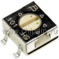 3314G-1-504E,  500 кОм, Резистор подстроечный