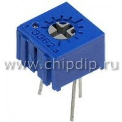 3362P-1-105 (СП3-19а), 1 Мом, Резистор подстроечный