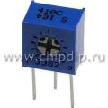 3362S-1-101 (СП3-19б), 100 Ом, Резистор подстроечный