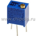 3266W-1-204, 200 кОм, Резистор подстроечный