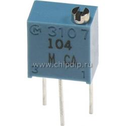 PV37W203, (СП5-2ВБ) 20 кОм (аналог 3266W-1-203), резистор подстроечный