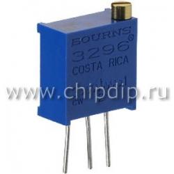3296W-102, 1 кОм, Резистор подстроечный