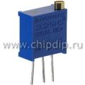 3296W-501, 500 Ом, Резистор подстроечный