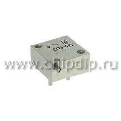 СП5-2В, 1 Вт,    220 Ом, 5%, Резистор подстроечный