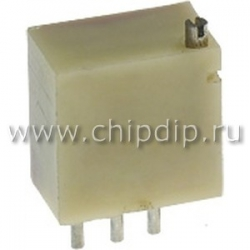 СП5-2ВБ, 0.5 Вт,    150 Ом, пластмасса, Резистор подстроечный