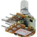 16T1-B10K, L15KC, 10 кОм, Резистор переменный