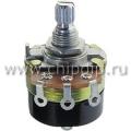 24S1-A10K, L15KC, 10 кОм, Резистор переменный с выключателем