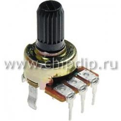 """R1212N-A10K, L-20KC, 10 кОм, """"A"""", Резистор переменный"""