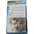 EK-R24/5, Набор выводных резисторов CF-25, 24 номинала по 20 шт