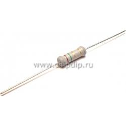CF-25 (С1-4) 0.25 Вт,   1.3 МОм, 5%, Резистор углеродистый